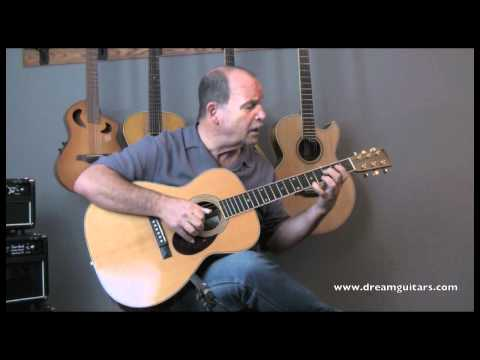 Walter Lipton Model C Acoustic Guitar played by Steve James at Dream Guitars