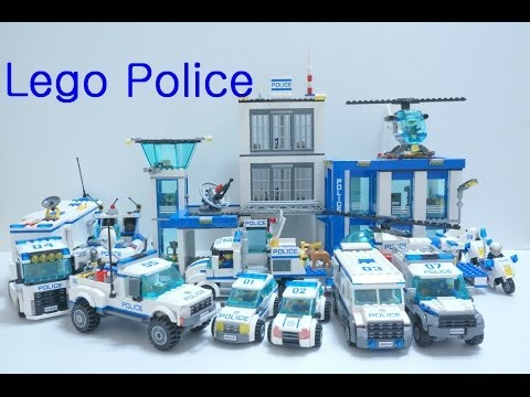 Lego Police Car 2014 : 60041 - 60049 (All)   Time Lapse Build