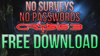 download lagu Crysis 3 Full Game Download Pc Direct Link 2013 gratis