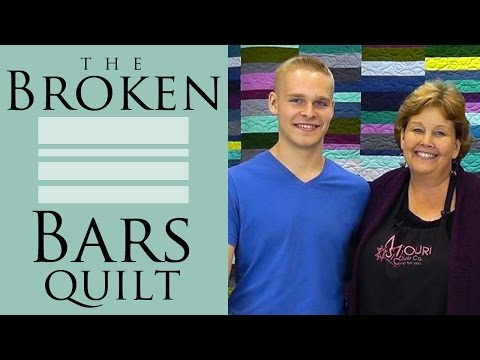 The Broken Bars Quilt: Easy Quilting Tutorial with Jenny Doan of Missouri Star Quilt Co