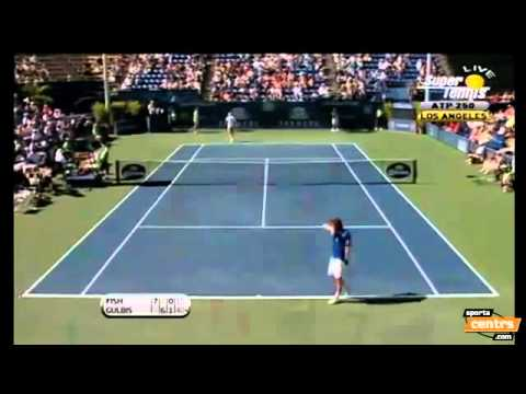 Los Angeles ATP Tennis Tour 2011   Final   Ernests Gulbis vs Mardy Fish   (Highlights)