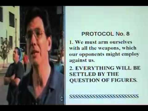 Wars, Economic Crisis, Fake Governments, Illuminati Banks Conspiracy NWO Plan: The Protocols of Zion