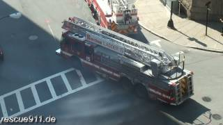 Engine 7 + Ladder 17 + Ladder 15 Boston Fire Department