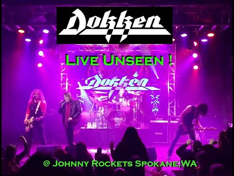 Dokken , Play 600 Seat Club Exclusive Show For Joeyg video