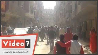 بالفيديو..مسيرة للإخوان بالشوارع الجانبية فى عين شمس