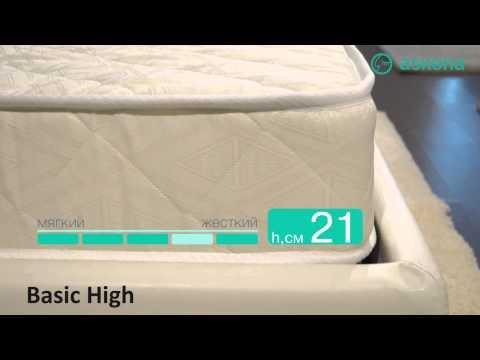 Обзор матраса Basic High