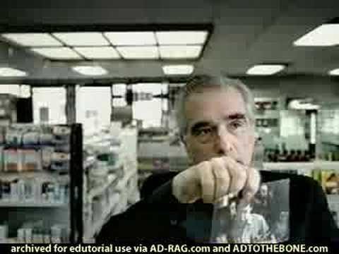 Martin Scorsese American Express Video