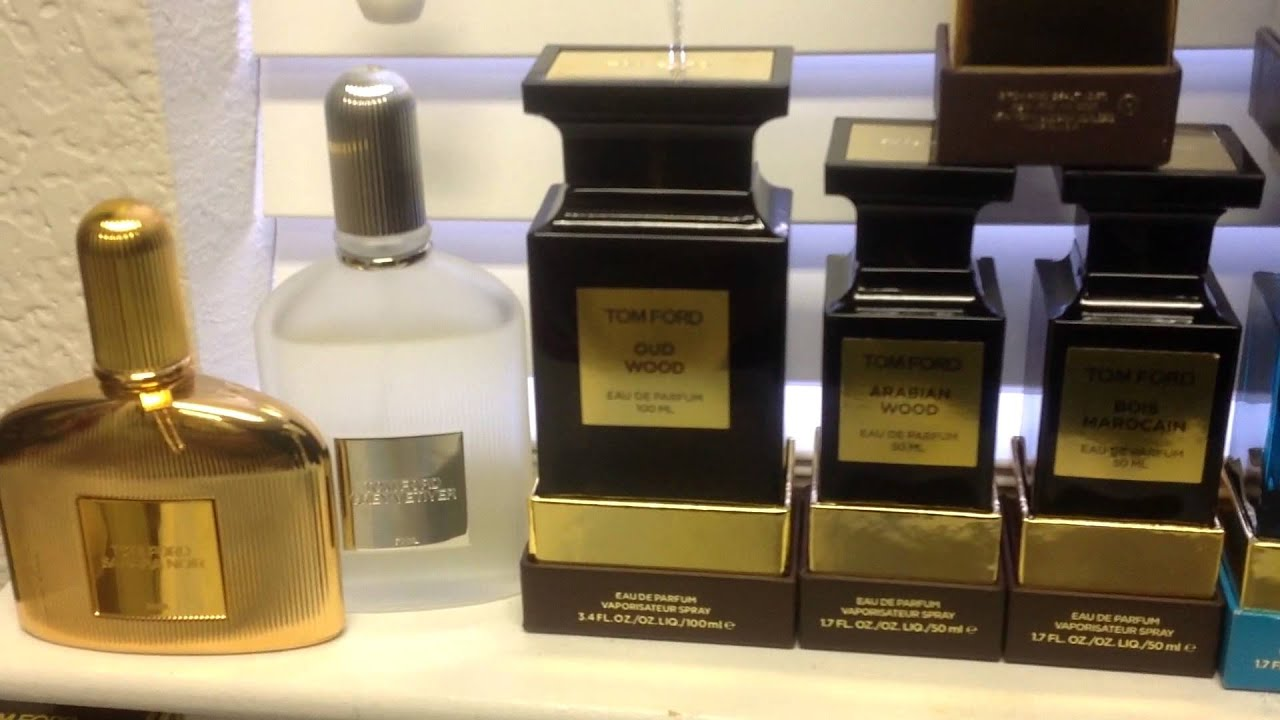 My Tom Ford Perfume Collection Youtube