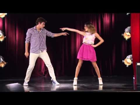 Violetta 2 - Vilu y León bailan juntos