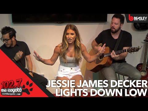 Jessie James Decker performs Lights Down Low