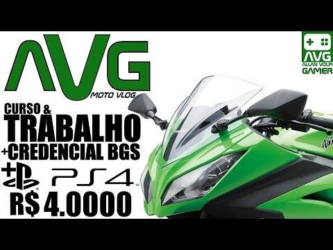 【AVG】™│Trabalho & Curso+BGS+PS4 R$ 4.000?!