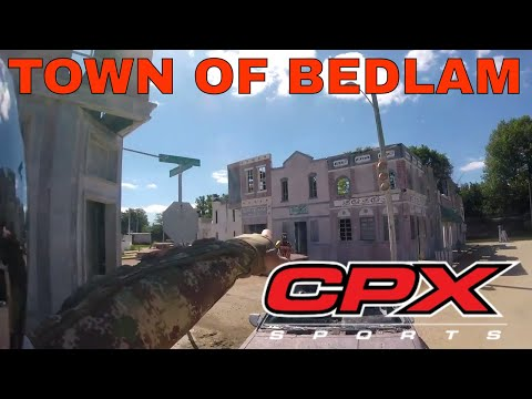 Town of Bedlam! Princess Game At CPX Paintball in Joliet IL