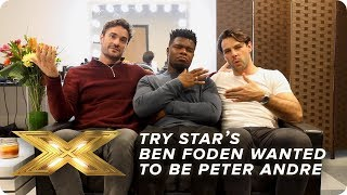 Try Star's Ben Foden wanted to be Peter Andre when he was younger! | X Factor: Celebrity