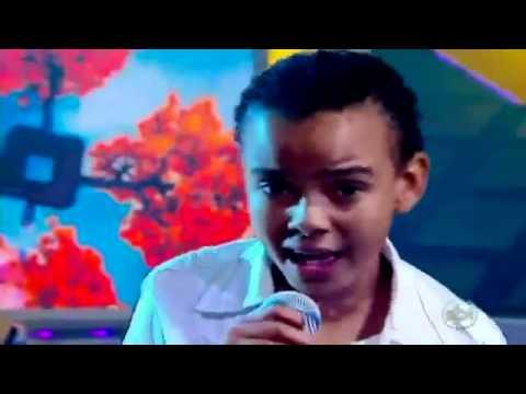 Niño brasileño con una voz como la de Michael Jackson - Oh Happy Day - Jotta A.