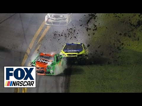 Danica Patrick Involved in Big Wreck - 2014 Daytona 500