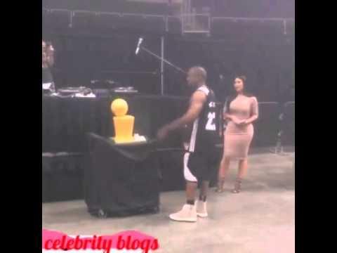 Kim Kardashian and KanyeWesthappy birthday