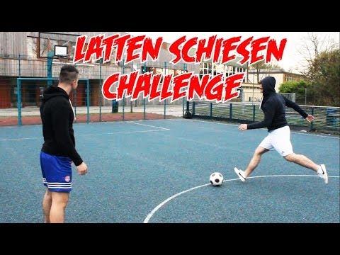 Lattenschuss CHALLENGE!!