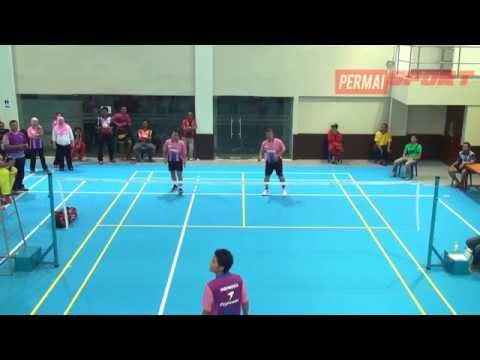 Legend Match Badminton Competition 2014 Indonesian Embassy for Brunei