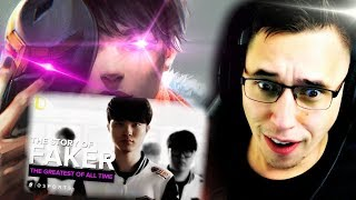 The GREATEST League Of Legends player of all time...FAKER!
