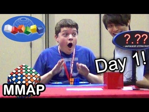 2013 Rubik s Cube World Championship: Day 1!