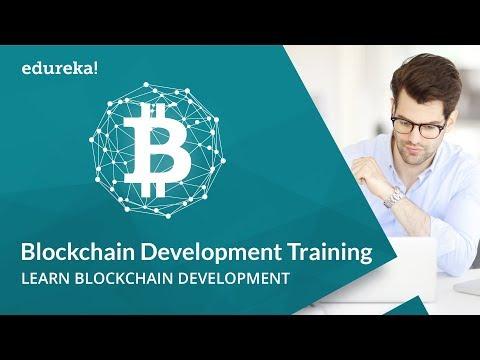 Blockchain Development Training | Blockchain Technology | Blockchain Explained | Edureka