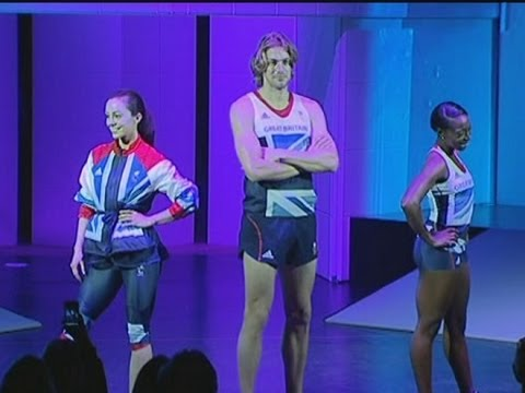 Hot athletes in Lycra: Stella McCartney unveils Team GB's Olympic kits