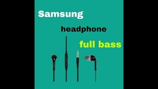 #Samsung headphone #EHS64 review