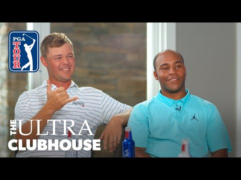Patton Kizzire and Harold Varner III in The ULTRA Clubhouse: Episode 10