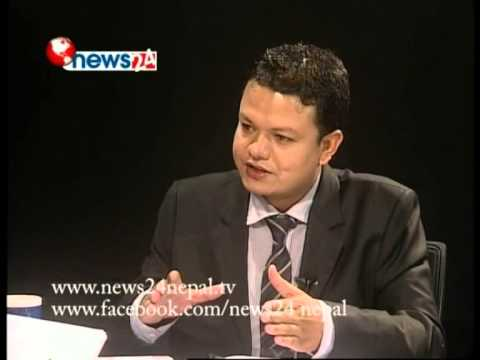 Real Face With Prem Baniya, Guest Hydro Minister of nepal, Radha Gyanwalii