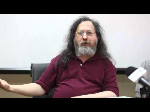 Richard Stallman - Software Libre, soberanía informática
