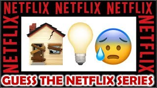 CAN YOU GUESS THE NETFLIX SERIES BY THE EMOJI?