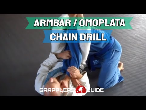 Jason Scully - Sweet BJJ Armbar and Omo Plata Partner Chain Drill Image 1