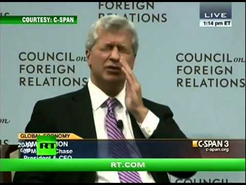 Capital Account asks Jamie Dimon about the Failed Bear Stearns Acquisition at the CFR!