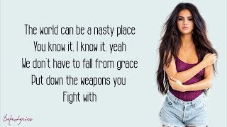 Download Lagu Selena Gomez - Kill Em With Kindness (Lyrics) Gratis STAFABAND