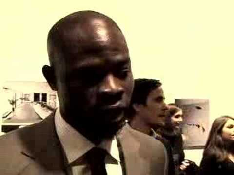 UNICEF: Djimon Hounsou discusses his role in Blood Diamond.
