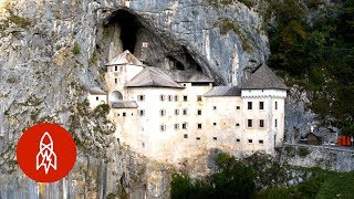 Slovenia's Cliff-Hanging Castle