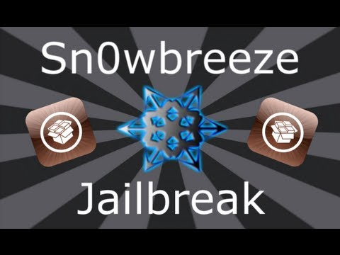 Sn0wbreeze Jailbreak iOS 6.0.1 / 5.1.1 / 5.0.1 / 4.3.3 iPhone, iPad & iPod Touch