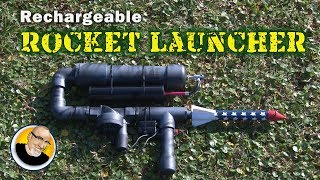 Rechargeable ROCKET LAUNCHER!!