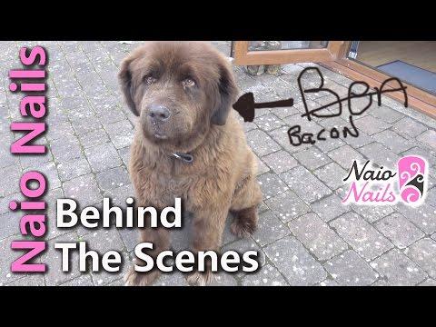 Naio Nails - Behind the Scenes +  Sneak Peek