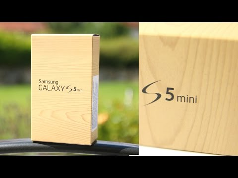 Unboxing: Samsung Galaxy S5 Mini (Deutsch) | SwagTab
