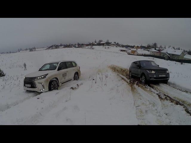 BWT LEXUS LX 570 против AcademeG Range Rover SV ...