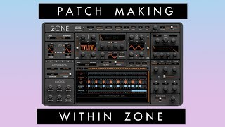 Patch Making With Zone