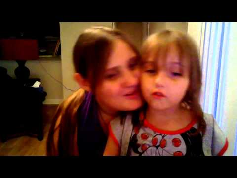 Me and Scarlet (Age 5) singing Skyfall By: Adele