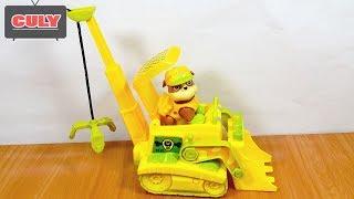Đồ chơi biệt đội chó cứu hộ lái xe cần cẩu chạy pin Paw Patrol Truck Car Cranes toy for kids