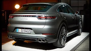 2020 Porsche Cayenne Turbo Coupe  Walkaround – Exterior and Interior