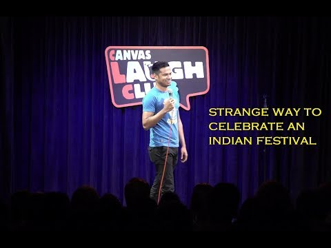 Strange Way to Celebrate an Indian Festival - Daniel Fernandes Stand-up Comedy