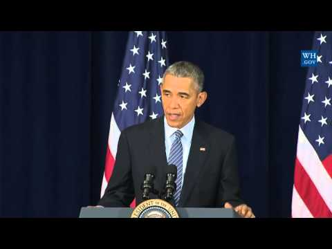 Obama Speaks About Iran, Syria at State Dept. Conference - Full Speech