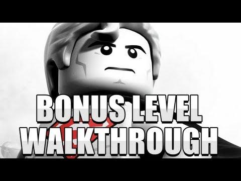 Lego Batman 2: DC Super Heroes - Bonus Level Walkthrough (Tricky Parts)