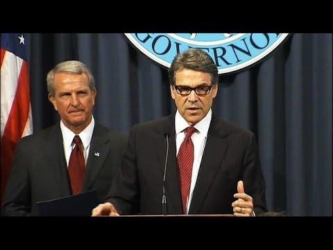 Gov. Rick Perry addresses Texas-related Ebola virus concerns