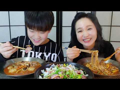 2019 2 21 김치 칼만두국 먹방 kimchi noodle soup eating show